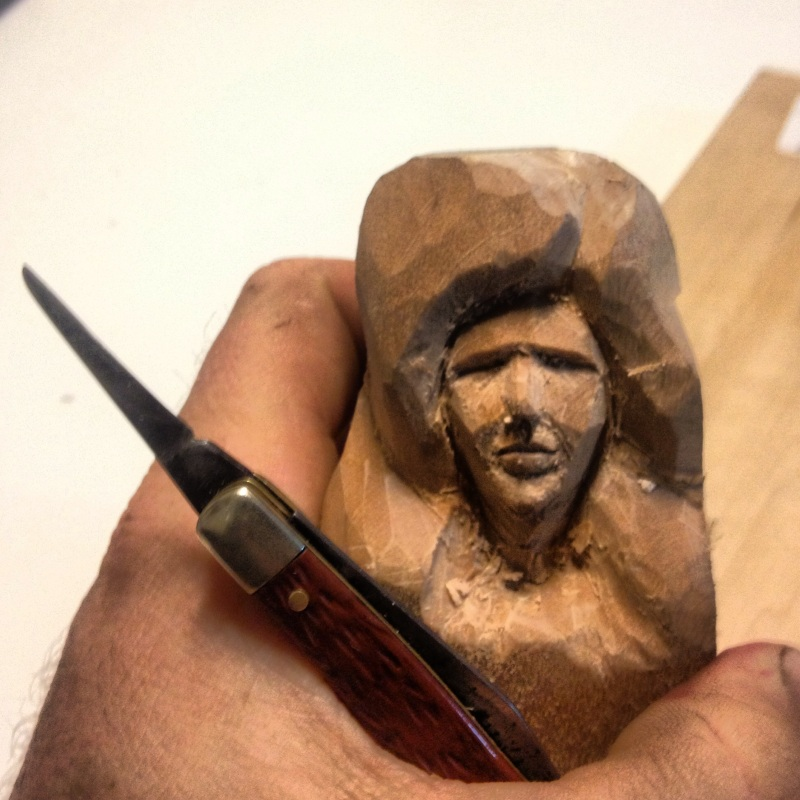 wood carving whittling